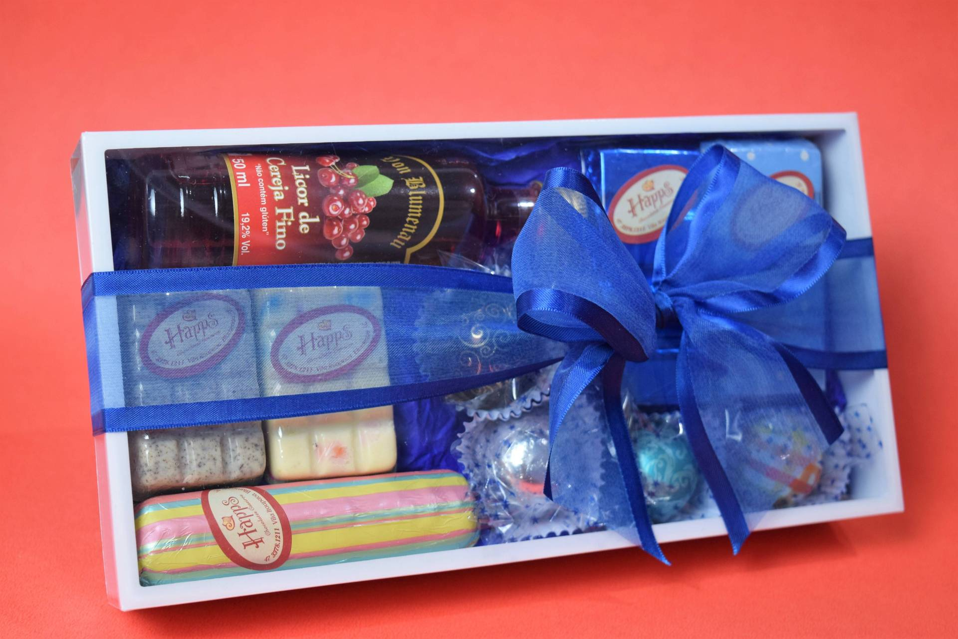 Kit de Chocolates com Licor
